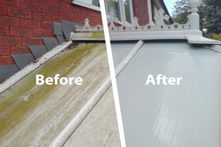 Conservatory, Gutter & Fascia Cleaning